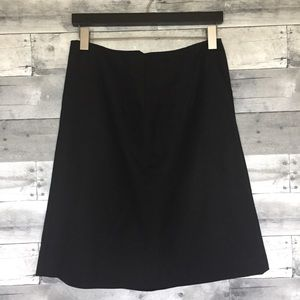 Banana Republic Black A-Line Skirt with Pockets